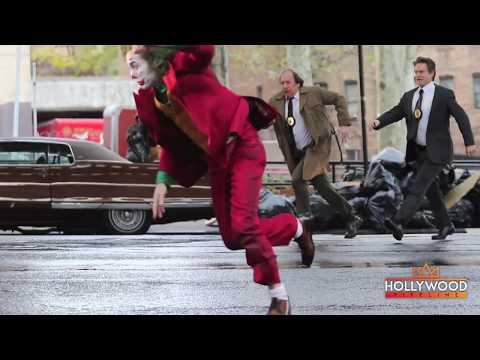 Joaquin Phoenix Joker Costume Dangerous Scene