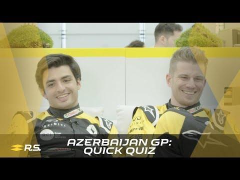 Azerbaijan GP: Quick Quiz