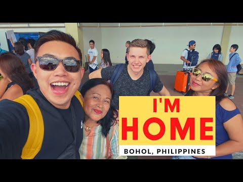 Homecoming From Canada To Bohol, Philippines | Jakobe TV