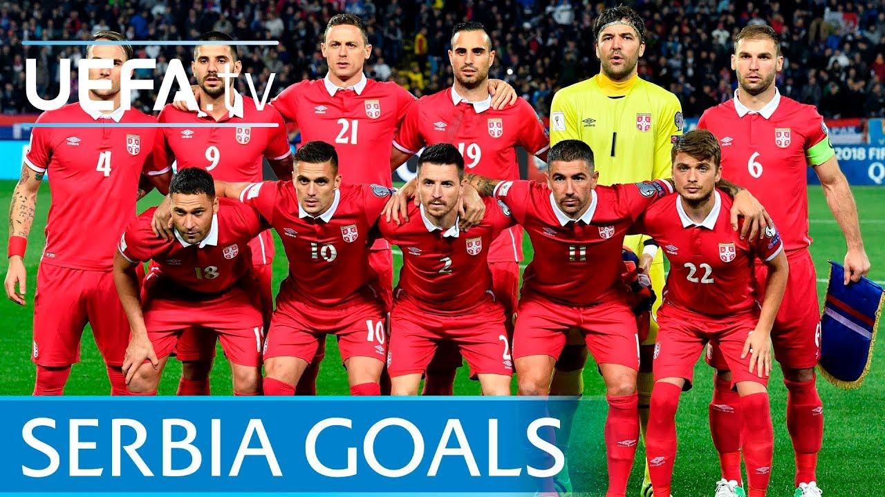 Resultado de imagem para Serbia top five European Qualifiers goals