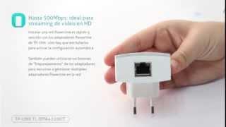 Kit Extensor Powerline WiFi AV500 hasta 300 Mbps TL-WPA4220KIT thumbnail