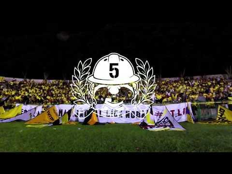 Ultras Gresik Curva Sud : Gresik United VS Persiba Balikpapan - Liga 1 (12-05-2017)