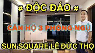 ✅Độc Đáo Nội Thất Chung Cư 3 Phòng Ngủ Dự Án Sun Square Lê Đức Thọ|✅CPG Decor.