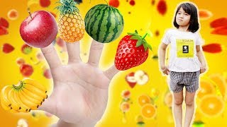 Daddy Finger Song | Fruit Colorful Finger Family and More Nursery Rhymes For Kids
