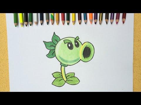 Plants Vs Zombies 2 Como Dibujar a Repetidora - YouTube