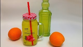 НАПИТОК из АПЕЛЬСИНОВЫХ КОРОЧЕК (orange crust drink)