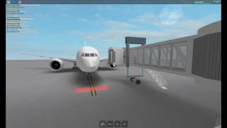 ROBLOX Int'l Airport: Japan Airlines Flight Boarding and departure
