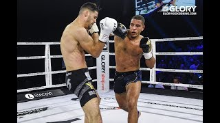 GLORY 65: Yousri Belgaroui vs. Donovan Wisse - Full Fight