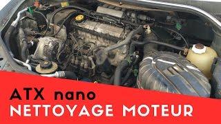 Nettoyage cryogénique - Nettoyage moteur voiture - ATX nano
