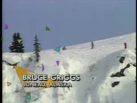 First Televised Extreme Skiing Championship in Alaska