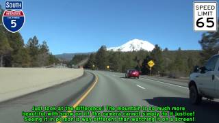 I-5 and Mt. Shasta: Then and Now #CAdrought