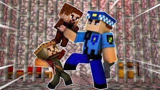 POLİS ARDA VE RÜZGARI DÖVÜYOR! 😱 - Minecraft