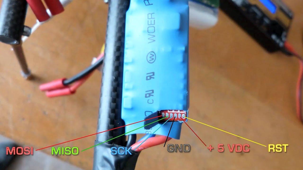Flashing Hk 30 A Esc With Simonk Youtube Turnigy Wiring Diagram