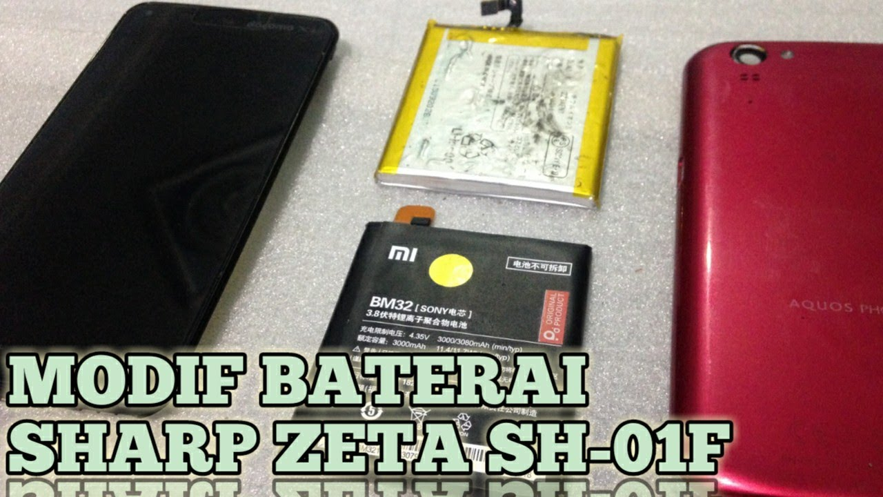 Ganti Baterai Sharp Aquos Zeta dengan tipe APA YA ???