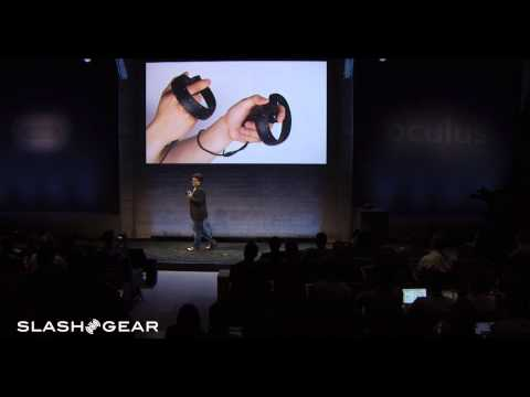 Oculus Touch revealed by Palmer Luckey