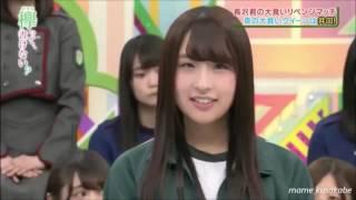+ 18 【欅坂46 】大食いクイーンリベンジマッチ結果発表での 意外にしっ...