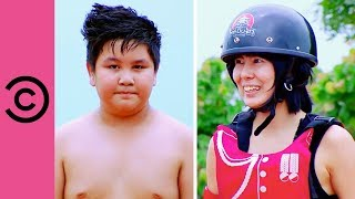 Sumo Wrestling Grudge Match Against a Teenage Boy | Takeshi's Castle