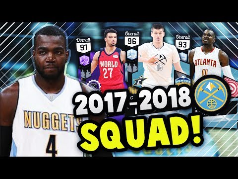 2018 DENVER NUGGETS WITH PAUL MILLSAP!! | DIAMOND JOKIC IS THE GOAT!! NBA 2K17 MyTEAM SQUAD BUILDER