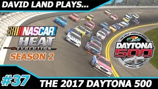 2017 daytona 500 nascar heat evolution career mode s2 race 1