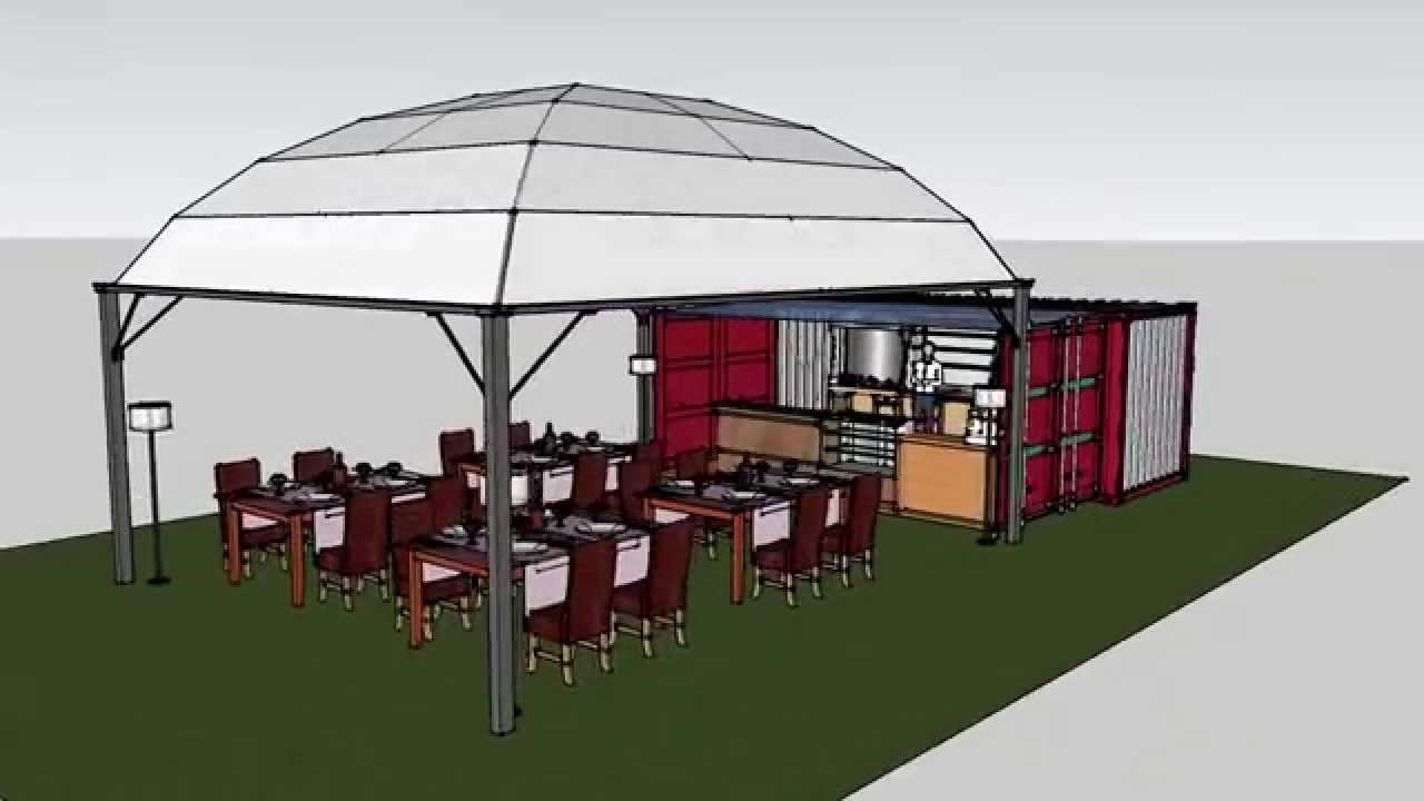 ristorante bar container shelter box produzione vendita noleggio