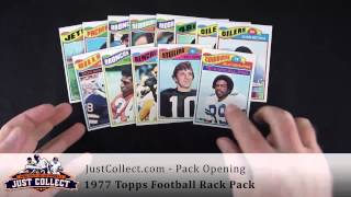 Pack Opening: 1977 Topps Football Rack Pack