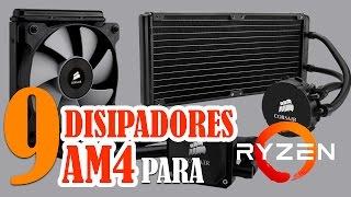 9 disipadores o cooler para procesadores ryzen con socket am4
