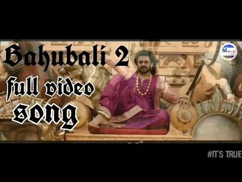 """""""Bhali bhali ra bhali sahore bahubali full video song""""bahubali 2 full HDvideo song"""