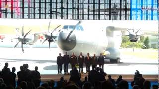 President Gül Attends Hand-over Ceremony of A400M Plane to Air Force - 12.05.2014
