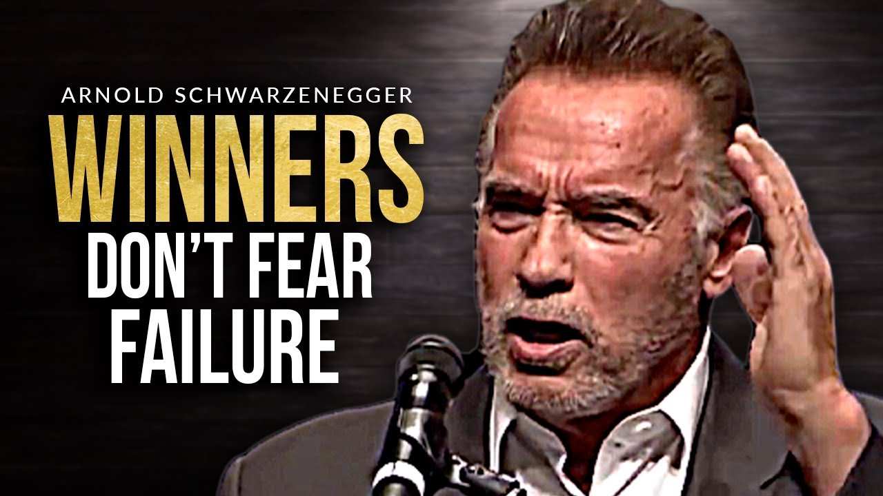 DON'T BE AFRAID TO FAIL - Best Motivational Speech Video (Featuring Arnold Schwarzenegger)