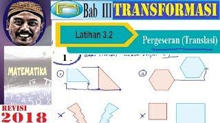 transformasi geometri  smp kelas 9 buku bse revisi 2018 matematika lat 3,2 translasi  no 1   4