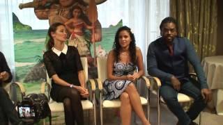 Conférence de presse Vaiana (Anthony Kavanagh , Cerise Calixte , Mareva Galanter )