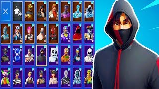 RARE IKONIK SKIN ACCOUNT! (Fortnite Stacked Account!) | IKONIK + BACKBLING COMBOS!