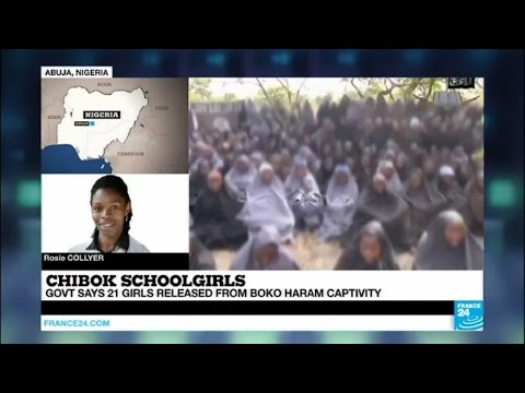 Nigeria: government says 21 Chibok schoolgirls released from Boko Haram captivity