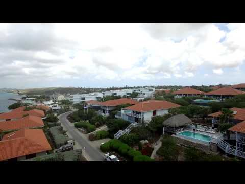 Oceanfront Beach villa Curacao with separate apartment