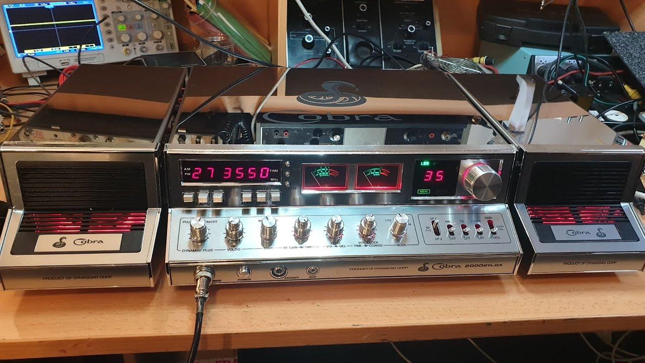 Cb radio parts cobra 2000 Coba 2000