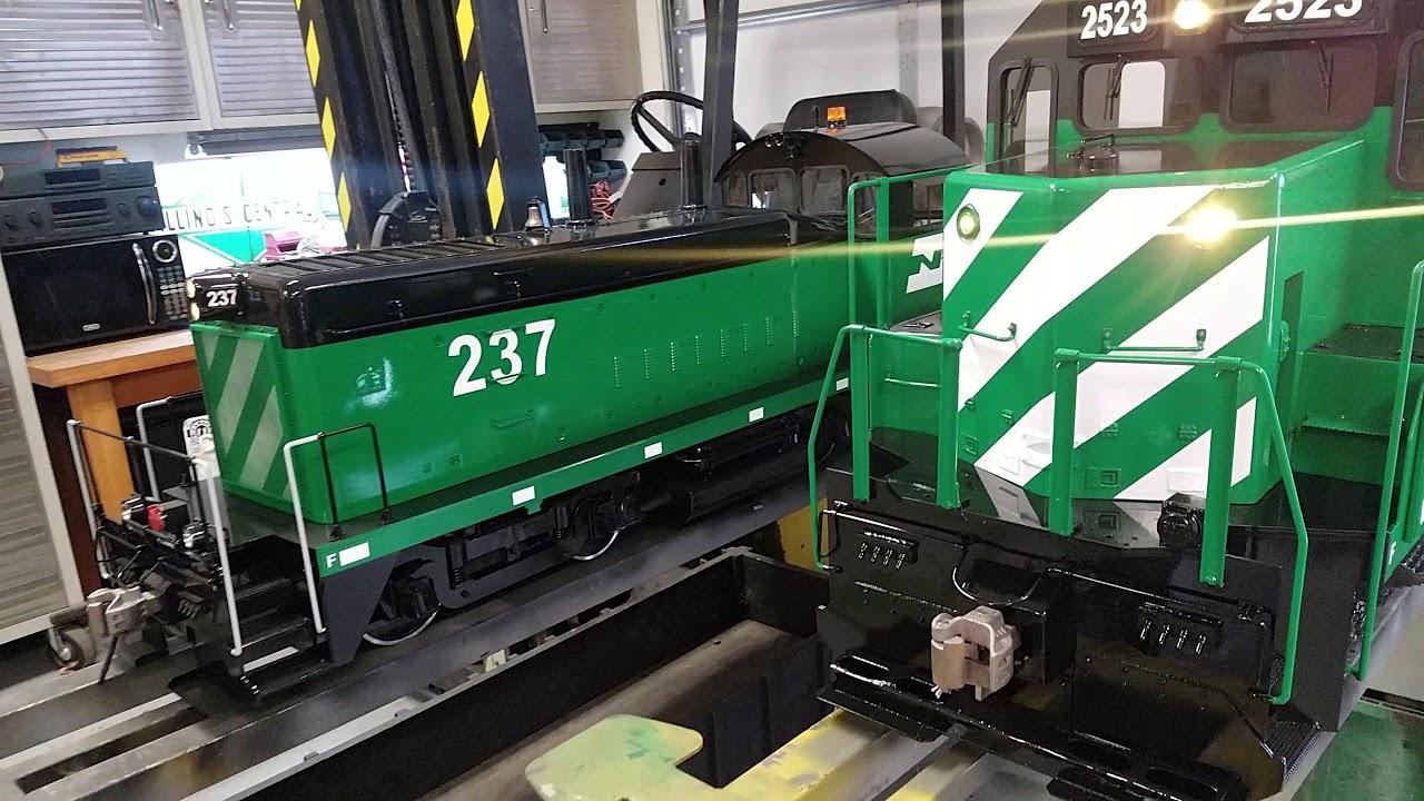 Backyard Trains You Can Ride