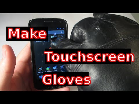 Make Touchscreen Gloves (No Sewing)