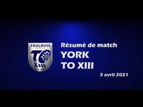 Résumé York City Knights v TO XIII - Round 1 Championship - 03.04.2021