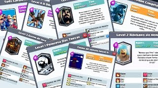 The CRAZIEST LETTERS CLASH ROYALE CREATED the CONTEST of SUPERCELL