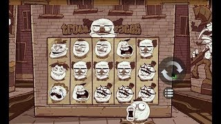 Machine à sous TROLL FACES 🎊🎊🎊 ou TETE DE TROLL, on le voit au design du jeu..