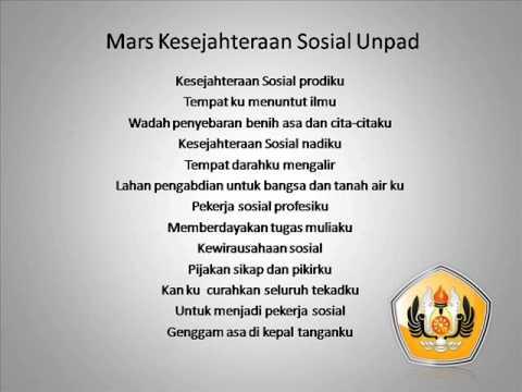 Mars Kesejahteraan Sosial Unpad