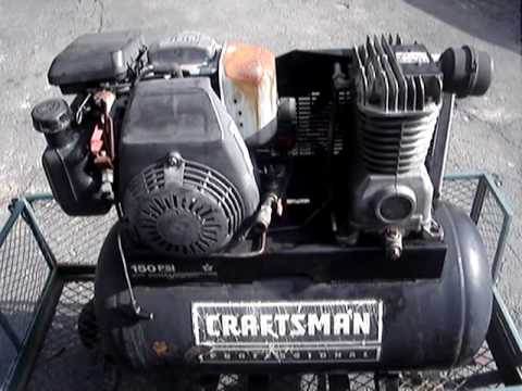 Fixing the 5hp Honda powered Craftsman air compressor ...