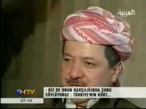 Al Arabia TV - Mesut Barzaniden Türkiyeye uyari.