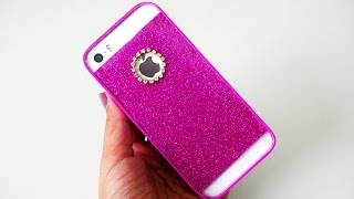 DIY Glitter Clear Cell Case | Anti-Fall Shimmering Glitter Cell Case