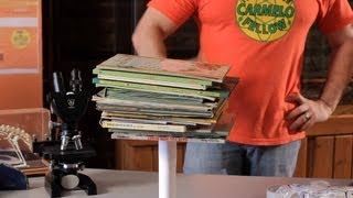 How to Do the Paper Book Tower Experiment | Science Projects