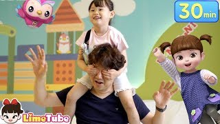 [30분]라임의 인기 영상모음 | 콩순이와 뽀로로 키즈카페에서 놀아요 indoor playground family fun | LimeTube