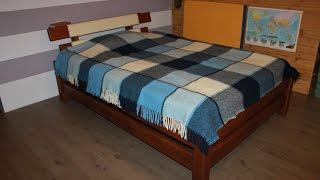 Кровать своими руками. 3/3 Wooden bed.(, 2016-12-28T20:05:52.000Z)