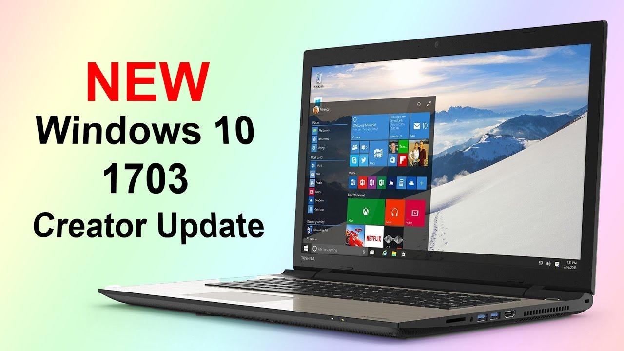 Windows 10 Update 1703 Download