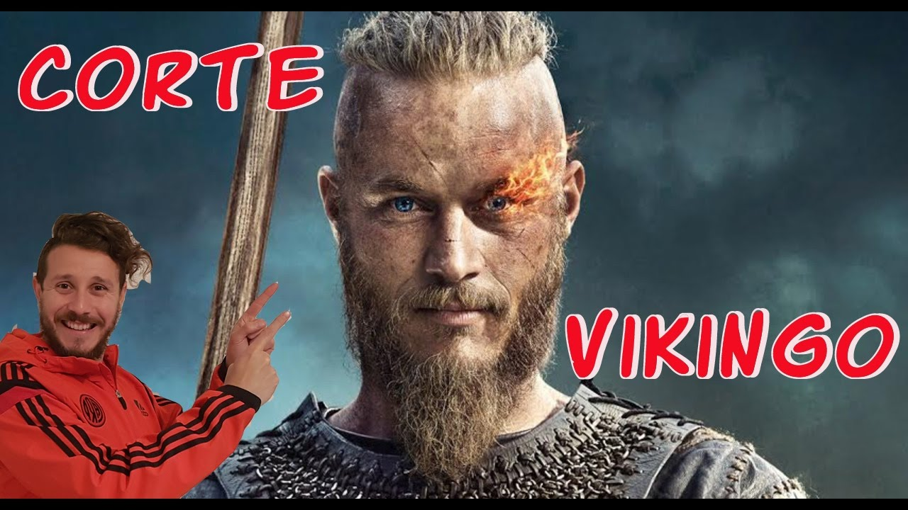 Ragnar Lothbrok Corte Vikingo Tutorial Ragnar Hair Natural Tv Vikings