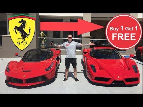 Buy 1 Ferrari Get 1 Free April Fools Youtube